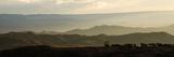 Elevated View of a Landscape at Dusk  Lalibela  Ethiopia