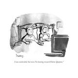 """I was undecided  but now I'm leaning toward Elaine Quijano"" - Cartoon"