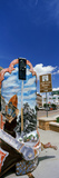 Cowboy Boot Sculpture in Downtown Cheyenne  Wyoming  USA