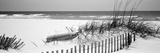 Fence on the Beach  Alabama  Gulf of Mexico  USA