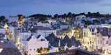 Trulli  Traditional Houses  Rione Monti Area  Alberobello  UNESCO World Heritage Site