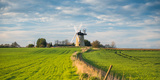 Windmill in Great Haseley in Oxfordshire  England  United Kingdom  Europe