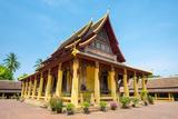 Wat Si Saket (Wat Sisaket) Temple  Vientiane  Laos  Indochina  Southeast Asia  Asia