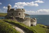 St Mawes Castle and Coastline  St Mawes  Cornwall  England  United Kingdom  Europe