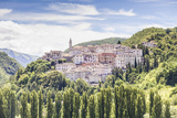 The Village of Preci in the Monti Sibillini National Park  Umbria  Italy  Europe