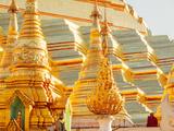 Shwedagon Pagoda  the Most Sacred Buddhist Pagoda in Myanmar  Yangon (Rangoon)
