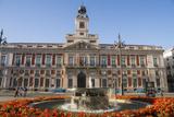 Puerto Del Sol  Madrid  Spain  Europe