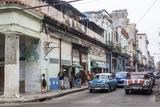Street Scene in Centro Havana  Havana  Cuba  West Indies  Caribbean  Central America