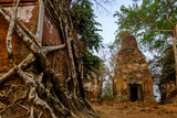 Temple of Prasat Pram (Prasat Bram)  Dated 9th to 12th Century  Temple Complex of Koh Ker