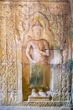 Stone Carvings at Prasat Preah Khan Temple Ruins  Angkor  UNESCO World Heritage Site