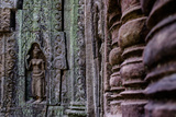 Ta Som Temple  Built in 12th Century by King Jayavarman Vii  Angkor