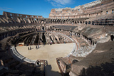 Remains of the Colosseum of Rome Built around 70Ad  Allegedly the Largest Ever Built