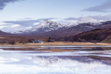 Loch Coultrie in Wester Ross  Highlands  Scotland  United Kingdom  Europe