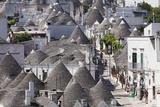 Trulli  Traditional Houses  Rione Monti Area  Alberobello  UNESCO World Heritage Site