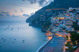 View over Positano  Costiera Amalfitana (Amalfi Coast)  UNESCO World Heritage Site