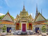 Wat Pho (Temple of the Reclining Buddha)  Bangkok  Thailand  Southeast Asia  Asia