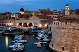 Dubrovnik Harbour  UNESCO World Heritage Site  Croatia  Europe