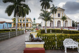 Plaza Mayor  Trinidad  UNESCO World Heritage Site  Sancti Spiritus Province  Cuba