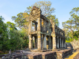 Prasat Preah Khan Temple Ruins  Angkor  UNESCO World Heritage Site  Siem Reap Province  Cambodia