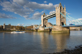 Tower Bridge and River Thames  London  England  United Kingdom  Europe