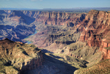 Colorado River Below  South Rim  Grand Canyon National Park  UNESCO World Heritage Site  Arizona