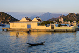 The Fishing Port  with a Small Buddhist Pagoda in Foreground  Phan Rang