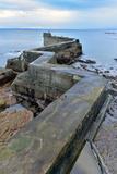 St Monan's Pier  Fife  Scotland  United Kingdom  Europe