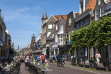 Street Scene  Hoorn  Holland  Europe