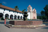 Mission Santa Barbara  Founded 1786  Santa Barbara  California  United States of America