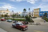 Parque Serafin Sanchez Square  Sancti Spiritus  Cuba  West Indies  Caribbean  Central America
