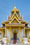Vientiane City Pillar Shrine  Vientiane  Laos  Indochina  Southeast Asia  Asia