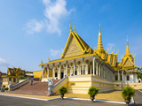 Throne Hall (Preah Thineang Dheva Vinnichay) of the Royal Palace  Phnom Penh  Cambodia