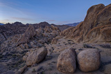 Boulders and Granite Hills  Alabama Hills  Inyo National Forest
