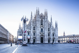 The Duomo Di Milano (Milan Cathedral)  Milan  Lombardy  Italy  Europe