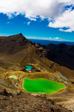 The Emerald Lakes  Tongariro National Park  UNESCO World Heritage Site  North Island  New Zealand