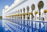 Sheikh Zayed Mosque  Abu Dhabi  United Arab Emirates  Middle East