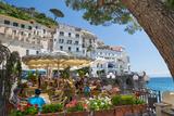 Promenade  Amalfi  Amalfi Coast  UNESCO World Heritage Site  Campania  Italy  Europe