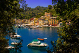 The Italian Fishing Village of Portofino  Liguria  Italy  Europe
