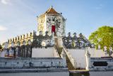 Phra Sumen Fort (Pom Pra Sumen)  Bangkok  Thailand  Southeast Asia  Asia