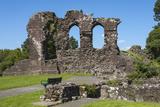 The 12th Century Egremont Castle  West Cumberland  Cumbria  England  United Kingdom  Europe