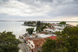 View over Punta Gorda and the Cienfuegos Bay  Cienfuegos  Cuba  West Indies  Caribbean