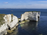 Old Harry Rocks at the Foreland (Handfast Point)  Poole Harbour  Isle of Purbeck