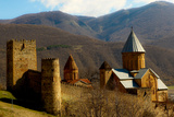 Castle in the Countryside of Tbilisi  the Republic of Georgia  Central Asia  Asia