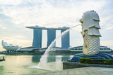 Merlion Statue  the National Symbol of Singapore and its Most Famous Landmark  Merlion Park