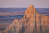 Badlands at Dawn  Badlands National Park  South Dakota  United States of America  North America