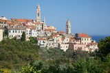 View of Cervo  Imperia  Liguria  Italy  Europe