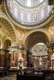 Interior of St Stephen's Basilica (Szent Istvan-Bazilika)  Budapest  Hungary  Europe