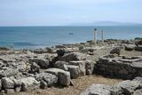 The Phoenician Roman Port of Tharros  Sardinia  Italy  Mediterranean  Europe
