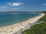 Bournemouth West Beach and Cliffs  Poole Bay  Dorset  England  United Kingdom  Europe