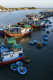 The Fishing Port  Phan Rang  Ninh Thuan Province  Vietnam  Indochina  Southeast Asia  Asia